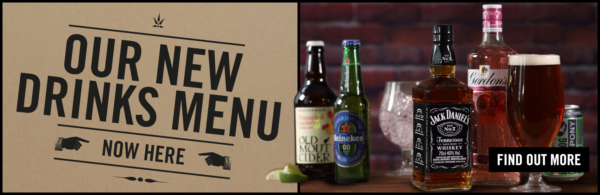 New Drinks Menu Coming Soon at The Granary
