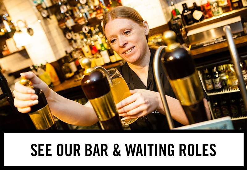 Bar roles at The Granary